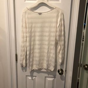 Theory Sheer Sweater
